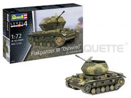 Revell - Flakpanzer III Ostwind Flak 43