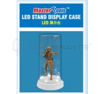 Trumpeter - Vitrine figurine 84x185mm &LED (FT)