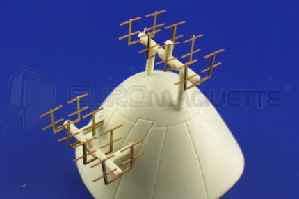 Eduard - BV-222 antennes (revell)