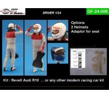 Gf Models - Pilote avec baquet (1)