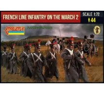 Strelets - French line infantry in march Part 2