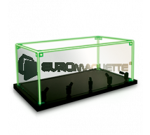 Metal earth - Vitrine 18x33x15cm avec LED