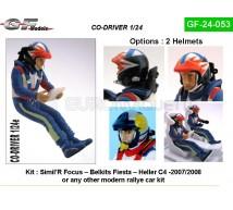 Gf Models - Co pilote Rallye