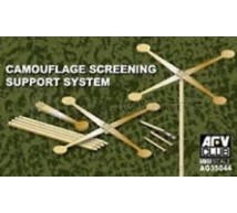 Afv Club - Supports filets de camouflage