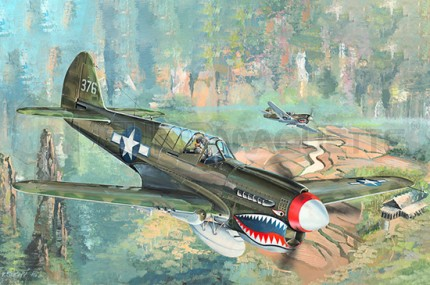 Trumpeter - P-40N War Hawk