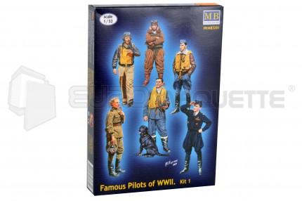 Master Box - Pilots WWII (1)