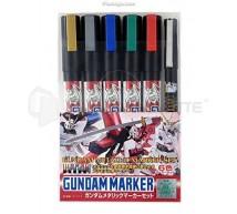 Bandai - Gundam metallic marker set
