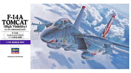 Hasegawa - F-14A Tomcat High Vis.