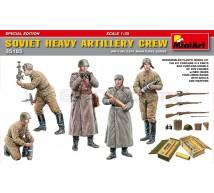 Miniart - Soviet artillery crew