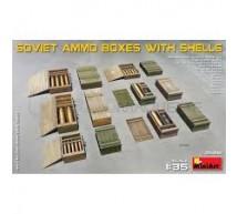 Miniart - Soviet Ammo boxes & shells