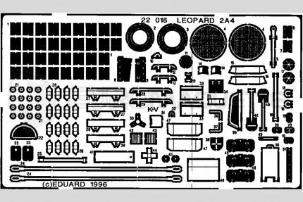Eduard - Leopard 2A4  (revell)