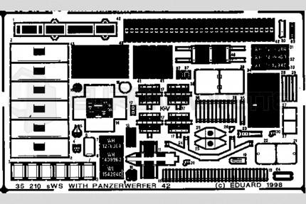 Eduard - SWS & Panzerwerfer 42 (ital.)