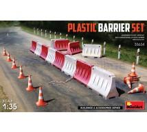 Miniart - Plastic barrier set