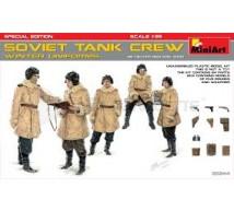 Miniart - Soviet tank crew WWII & armement