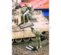 Verlinden - US tank crew Irak