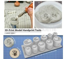 Liang model - 3D handprint tool 1/72 to 1/24