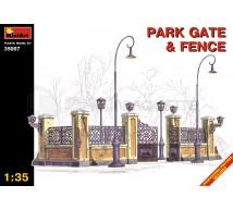 Miniart - Portail de parc & clotures