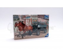 Riich models - German Hf7 Steel field wagen