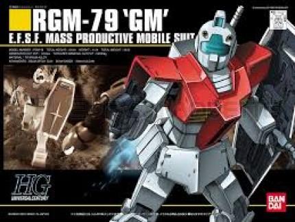 Bandai - HGUC RGM-79 GM (0101787)