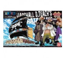 Bandai - One Piece Marshall pirate ship (0200637)
