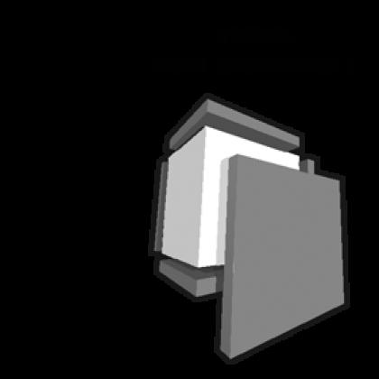 Colour shaper - Pinceau gomme carré concave n°2