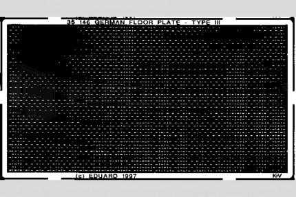 Eduard - German floor plate (3)