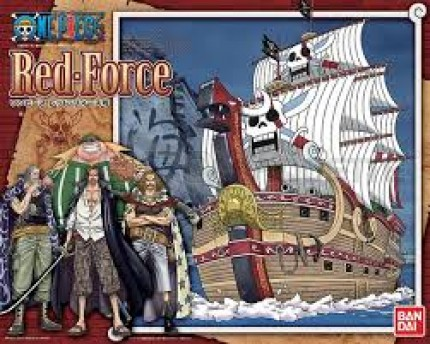 Bandai - One Piece Red Force (0201313)