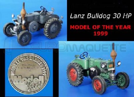 Plus Model - Tracteur Lanz Bulldog 30HP