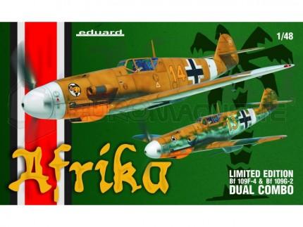 Eduard - Combo Bf-109 F-4/G-2 Afrika