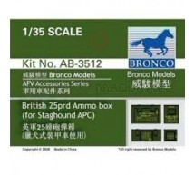 Bronco - 25 Pdr Ammo Boxes
