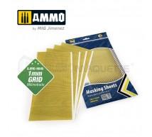 Mig products - Masking sheet 290x145mm 1mm grid