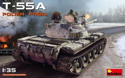 Miniart - T-55 Polish Prod