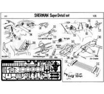 Verlinden - Photodécoupe M4 Sherman