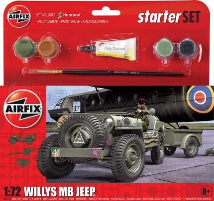 Airfix - Coffret British Jeep