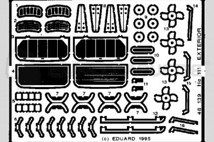 Eduard - He-111 ext. (revell/monogram)