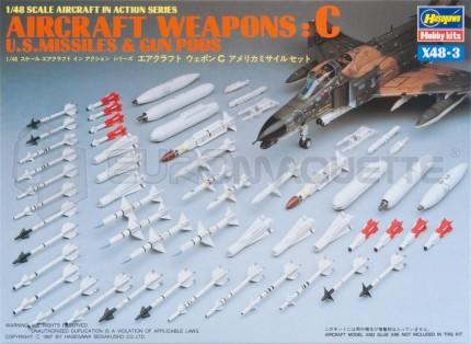 Hasegawa - Missiles US set C