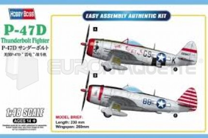 hobby boss - P-47D
