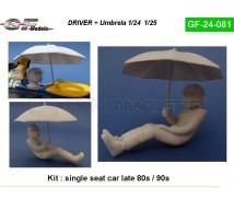 Gf models - Pilote F1 90 & umbrella