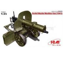 Icm - Mitrailleuse Maxim 1941