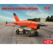 Icm - BQM-34A Firebee & Trailer