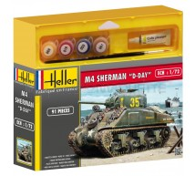 Heller - Coffret M4 Sherman D Day