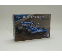 EBBRO - Tyrrell 003 Monaco 1971