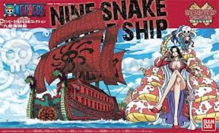 Bandai - One Piece Nine snake pirate ship (0180542)