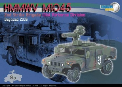 Dragon - M1045 Humvee & TOW