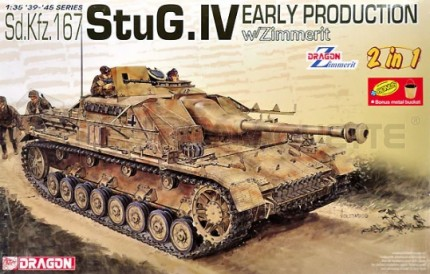 Dragon - Stug IV early & Zimmerit