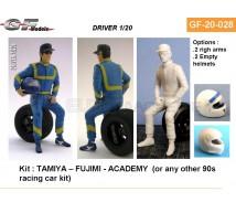 Gf Models - Pilote F1 2000 assis 1/20