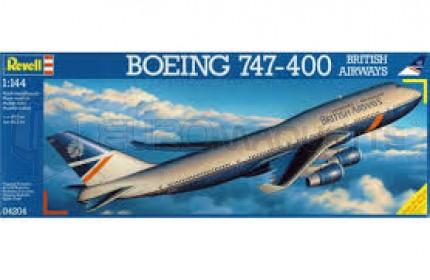 Revell - Boeing 747-400Brit.Airw.