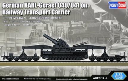Hobby boss - Karl & railway transport carrier