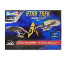 Revell - Coffret Enterprise Anniversary set (2 kits)