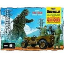 Mpc - Godzilla army jeep